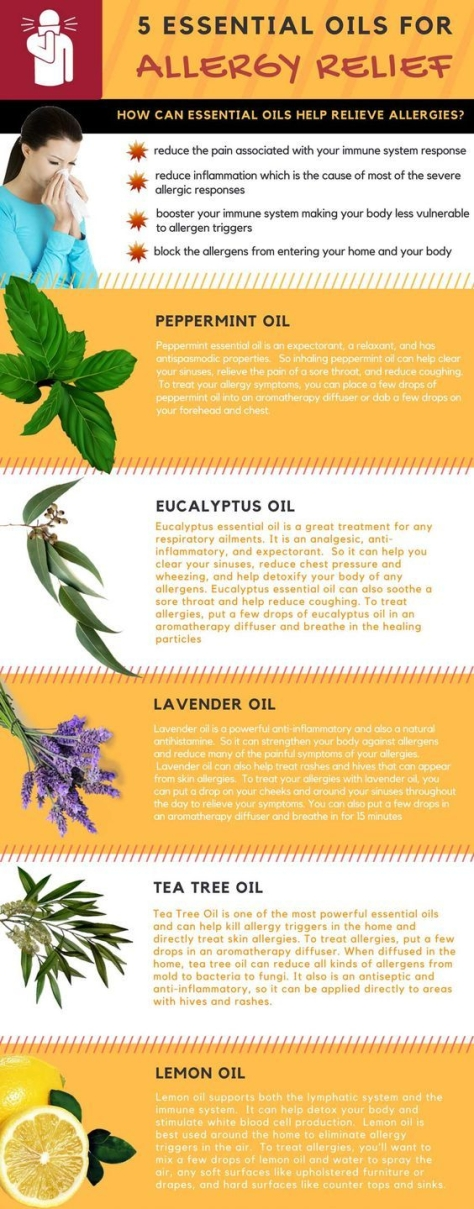Essential Oil for Allergie Season